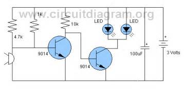 sound activated light schematic diagram get free image