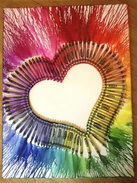 High End Home Design Magazines by 30 Cool Melted Crayon Art Ideas Hative