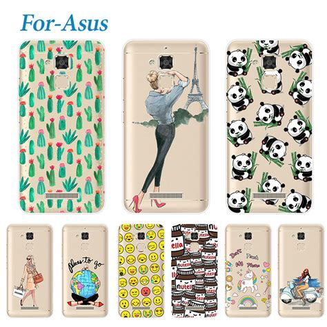 Silicon Casing Softcase Rainbow Asus Zenfone 3 Max 5 5 Zc553 rivas fashion soft for asus zenfone 3 max zc520tl lovely soft silicone phone cases
