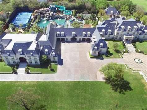 backyard waterpark dream home with backyard water park in dallas is on sale for 32 million