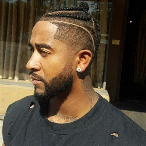 usher dyed mohawk omarion pulls off three hairstyles in one instagram post