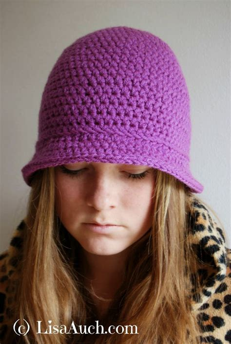 pattern crochet hat with brim free crochet pattern for women s hat with brim by lisaauch