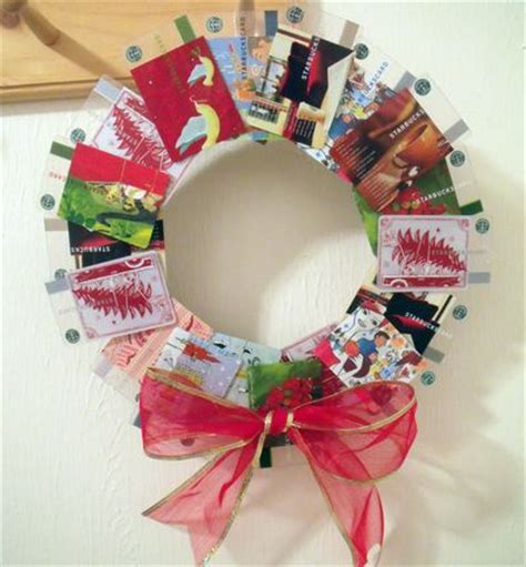 Craft Warehouse Gift Card Balance - make a gift card wreath dollar store crafts
