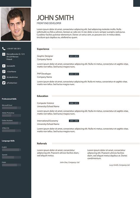 Design Pro Vorlage exle 3 i will design resume awesome cv for you for