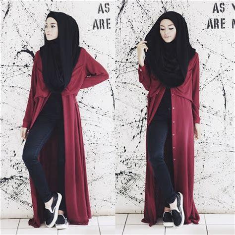Gamis Dasara Dress Baju Panjang Wanita Muslim Casual Modern Lucu 20 model baju muslim casual modern wanita terbaru 2017 2018