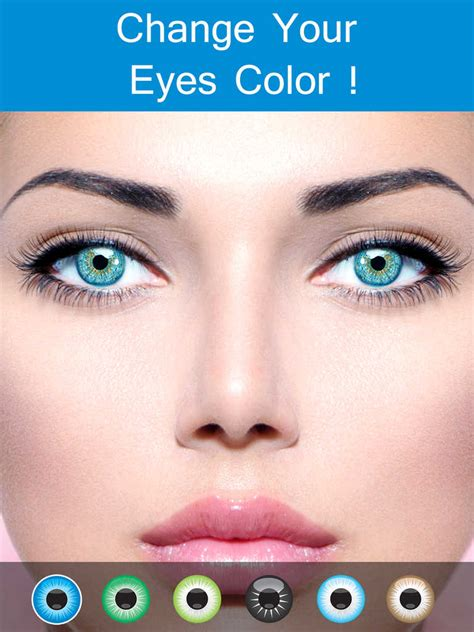 app that changes eye color app shopper eye color changer makeup eye remover