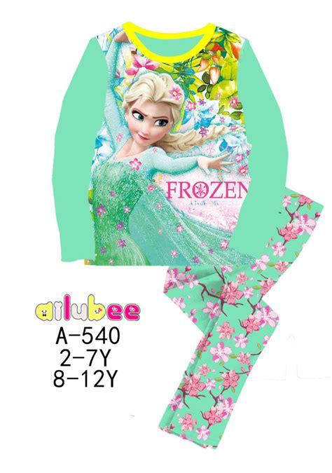 Promo Ready Stock Beckham Elsa ready stock frozen elsa ailubee pyjamas a540