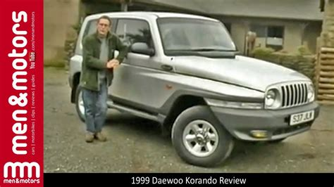 ssangyong korando 1999 1999 daewoo korando review youtube