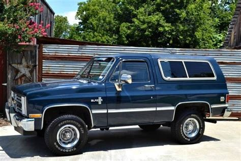 how to work on cars 1995 chevrolet k5 blazer electronic valve timing 1986 chevy blazer k5 1 owner resprayed in factory color beautiful interior for sale