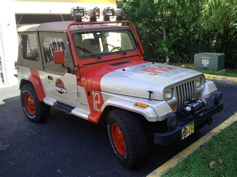 jurassic world jeep ebay find of the day jeep wrangler jurassic park edition