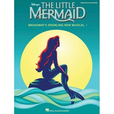 libro the little mermaid la sirenita el musical de broadway