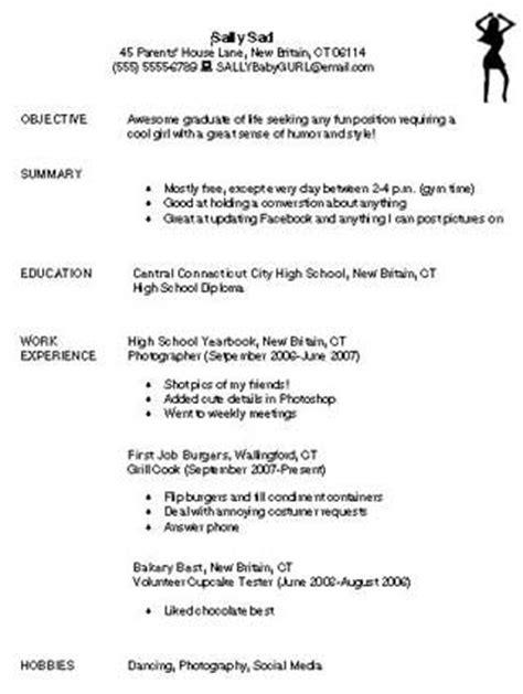 bad resume | education world