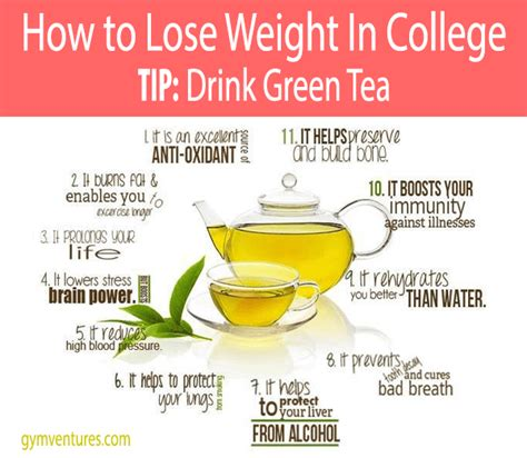 How Much Do You Lose On A Tea Detox by How To Lose Weight In College 20 Tips To Guide You There