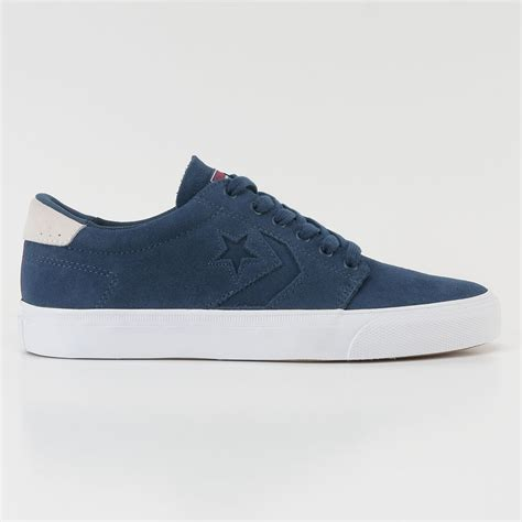 converse ka3 ox shoes suede navy at skate pharm