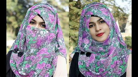 Daily Niqab daily simple niqab tutorial for class office