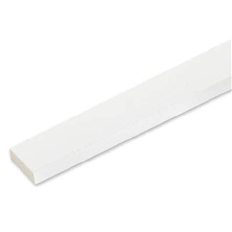 veranda 3 4 in x 2 1 2 in x 8 ft white pvc trim 9 pack