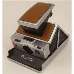 polaroid sx 70 land camera vintage leather body
