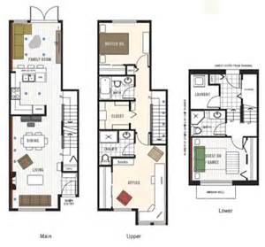 Townhouse Building Plans Best Townhome Floor Plans Studio Design Gallery