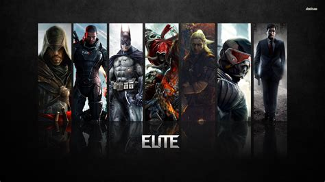 elite video game characters wallpaper game wallpapers