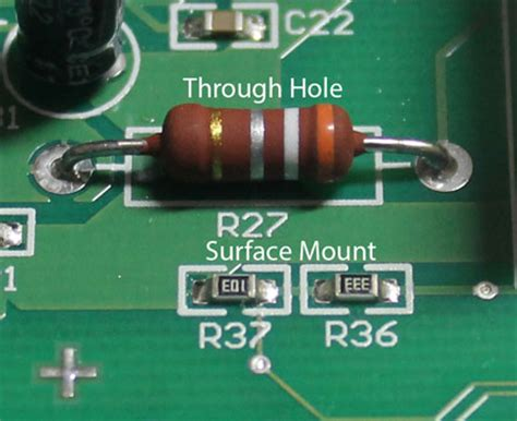 surface mount led with integrated resistor resistors spazztech