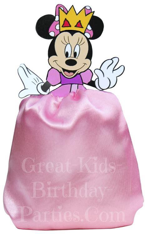 Home Made Party Decorations disney princess favor bags