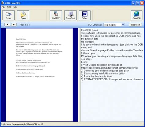 free full version ocr software freeocr download