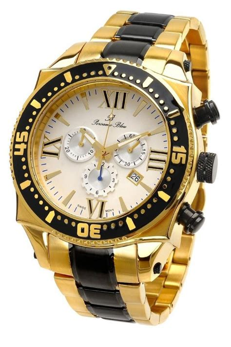 guide buy porsamo bleu milan g stainless steel gold tone