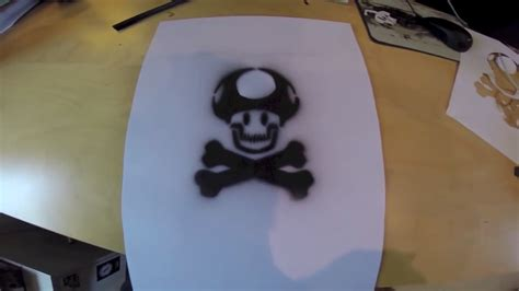spray paint stencil how to make spray paint stencils 10 steps with pictures