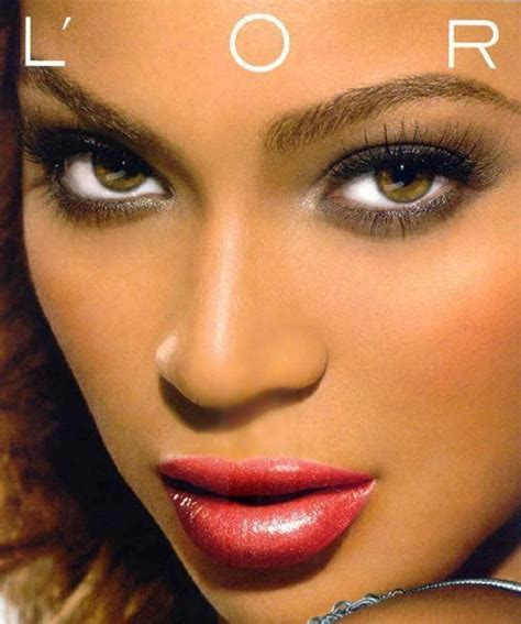 rihanna real eye color beyonce s l oreal caign goes viral