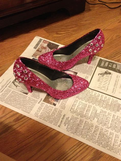 diy mod podge shoes mod podge and rhinestone diy prom shoes prom