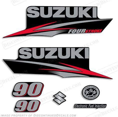 Suzuki Decal Stickers Suzuki 90hp Df90 Decal Kit 2010 2013