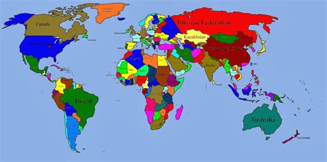 map world of and world map