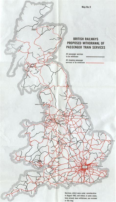 map uk rail lines historical