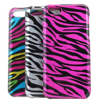 Iphone 5c Pattern Hardcase 1 2 in 1 zebra stripe pattern back cover for iphone 5c us 3 49 sold out