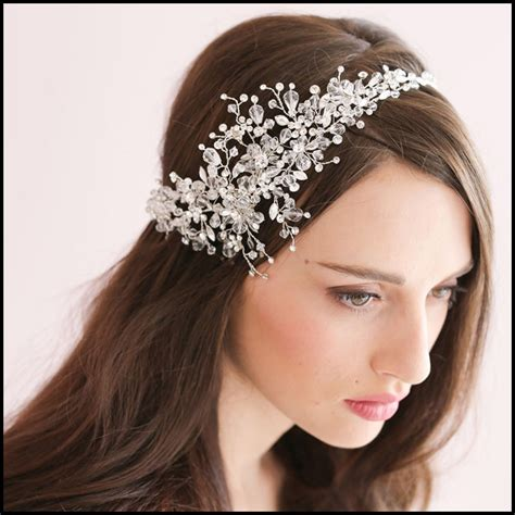 indian bridal hairstyles accessories luxury rhinestone bridal hair accessories for wedding