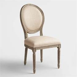 Where To Buy Dining Chairs Linen Back Dining Chairs Set Of 2 World Market