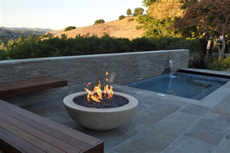 Backyard Bowls San Francisco Pit And Spa Modern Pool San Francisco By
