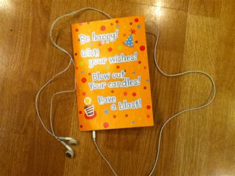 how to make musical greeting card hack that musical greeting card headphone edition 3