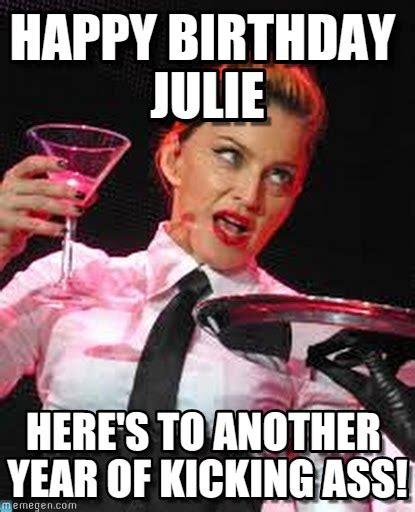 Julie Meme - julie happy birthday julie on memegen