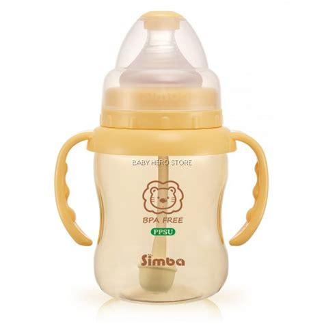 Simba Ppsu Wide Neck Calabash Feeding Bottle 200ml simba ppsu wide neck feeding bottle with auto straw