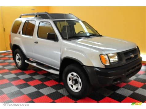2000 silver metallic nissan xterra xe v6 4x4 15814114 gtcarlot car color galleries