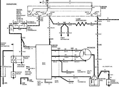 ford ballast resistor wiring diagram i a 1986 f350 with a 460 engine the wiring from the starter relay includes a resistor wire