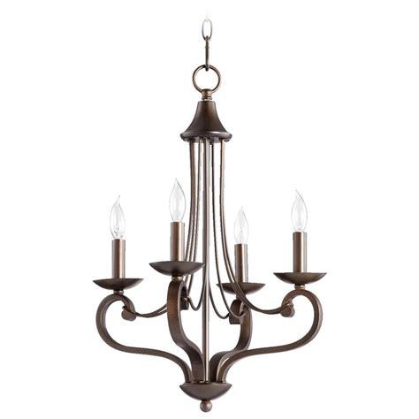Bronze Mini Chandelier Quorum Lighting Lariat Bronze Mini Chandelier 6031 4 86 Destination Lighting
