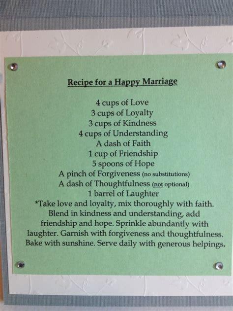 bridal shower bring recipe poem bridal shower poems and quotes quotesgram