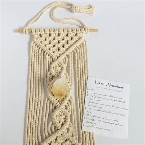 Macrame Kits - macrame kit i am abundant create it yourself