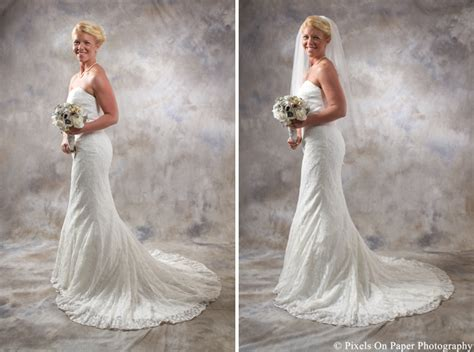 Formal Wedding Portraits by Classic Studio Bridal Portraits Pixelsonpaperblog