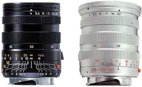 28mm 35mm 50mm f/4 asph tri elmar m leica wiki (english)