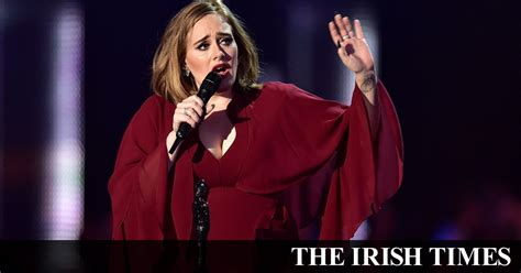 adele never give up rumour has it is adele about to give up performing live