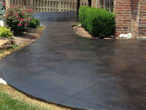 decorative concrete to enhance your home style all acid stained concrete patio photos modern patio outdoor