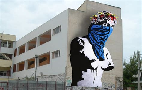 twenty european street artists  color athens